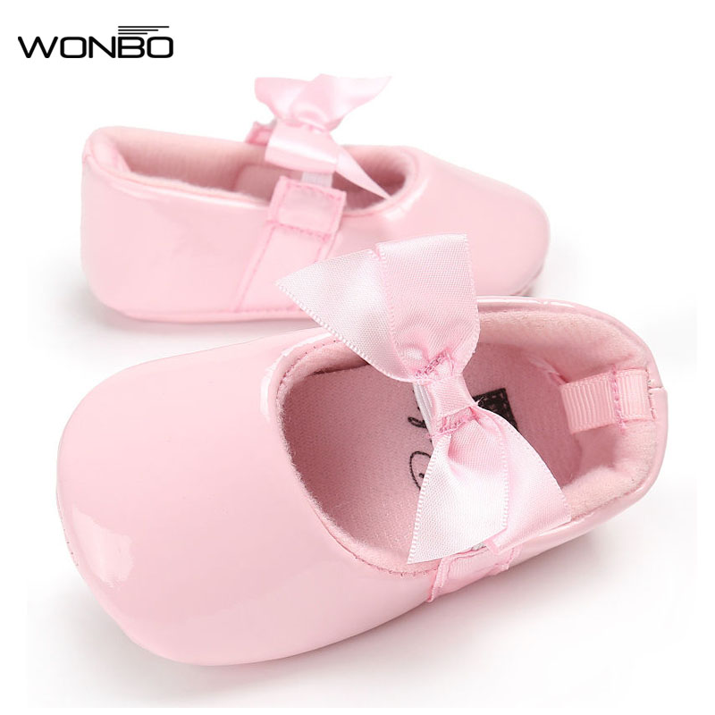12 Colors WONBO Brand Spring Summer Baby Shoes PU Leather Loafers Newborn Boys Girls Shoes First Baby Walkers 0-18 Months
