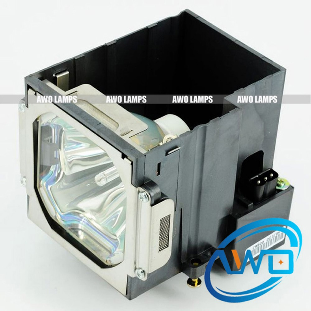 AWO Quality Replacement Projector Lamp POA-LMP104 Compatible with Housing for SANYO PLC-WF20/XF70 PLV-WF20/EIKI LC-W5/LC-X7 compatible projector lamp for sanyo plc zm5000l plc wm5500l
