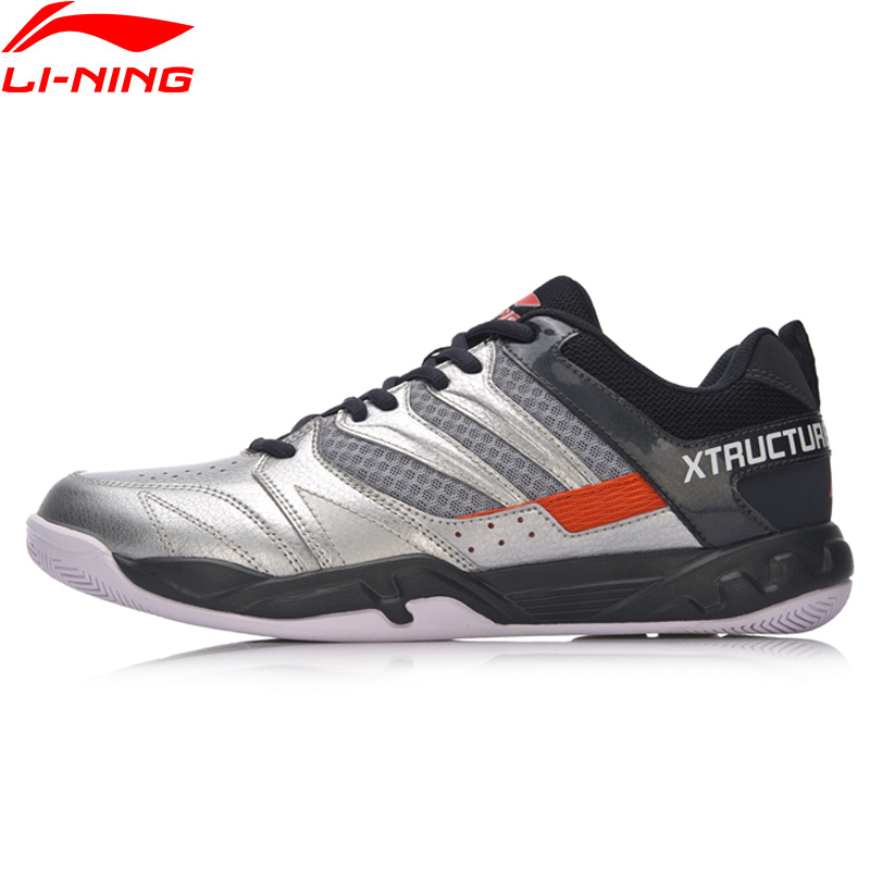 Li-Ning Men 2018 STRIKER Badminton Training Shoes Anti-Slip Wearable Sneakers LiNing Professional Stability Sports Shoes AYTN025 цена