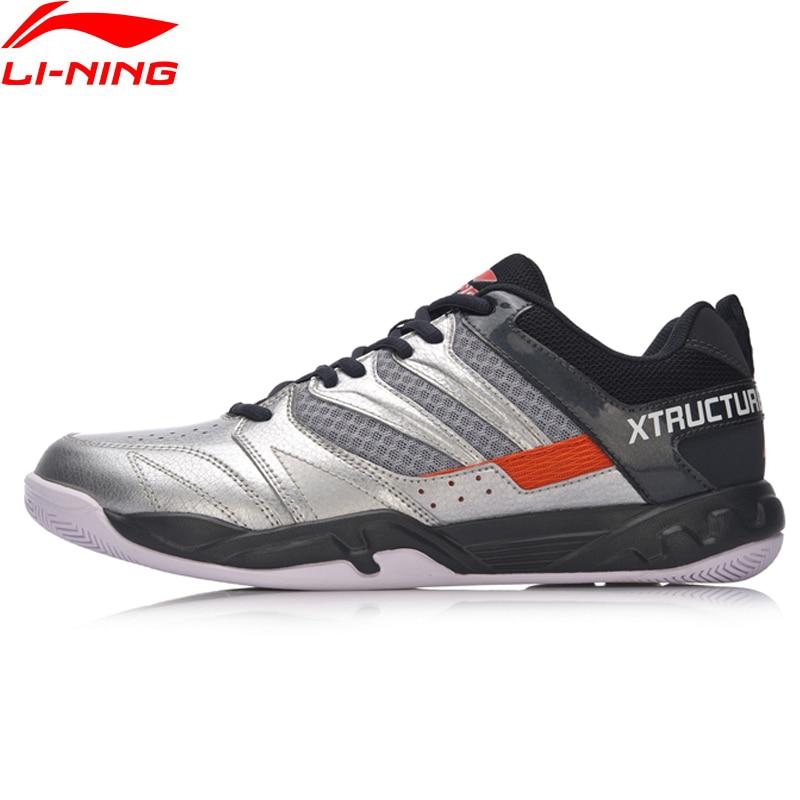 Li-Ning Men STRIKER Badminton Shoes Professional Fitness Training Sneakers Comfort Antiskid LiNing Sports Shoes AYTN025 XYY069 li ning men s professional basketball shoes speed