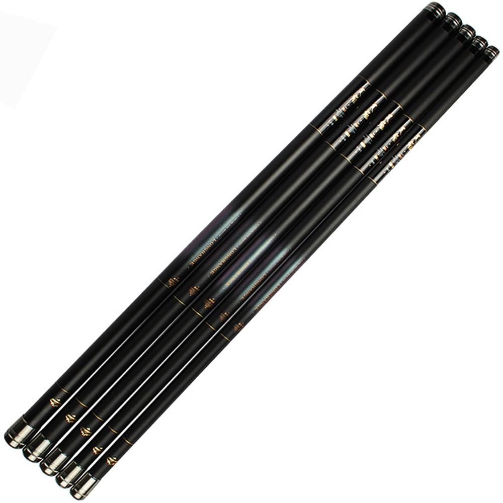ФОТО Goture Carp Fishing Rod Carbon Fiber Hand Pole Stream Rods Carp Fishing Fish Tackle 8m 9m 10m 11m 12m