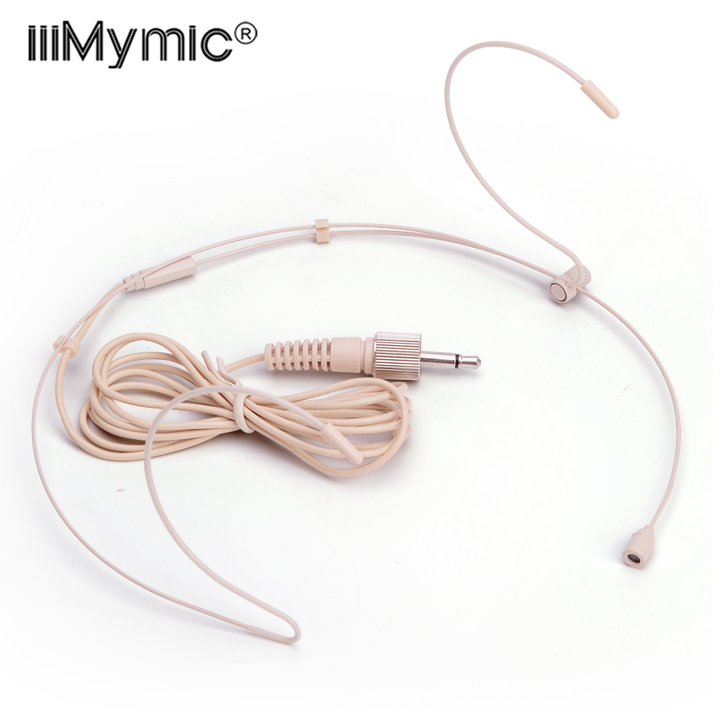 1pcs good quality headset cardioid condenser microphone for sennheiser wireless bodypack transmitter 3 5 mm 3 35mm lockable [ 1000 x 1000 Pixel ]