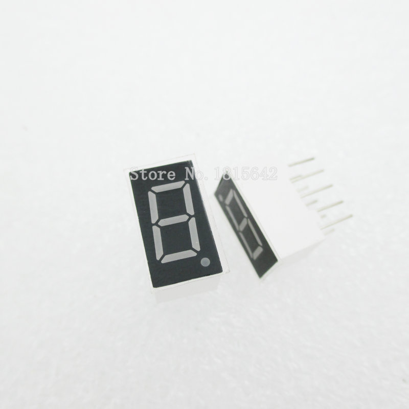 5PCS/LOT 1bit 1 Bit Common Anode Positive Digital Tube 0.36