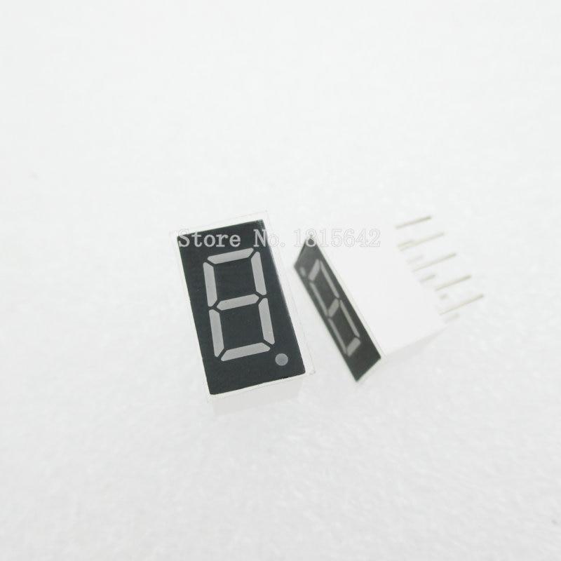 5PCS/LOT 1bit 1 Bit Common Anode Positive Digital Tube 0.36