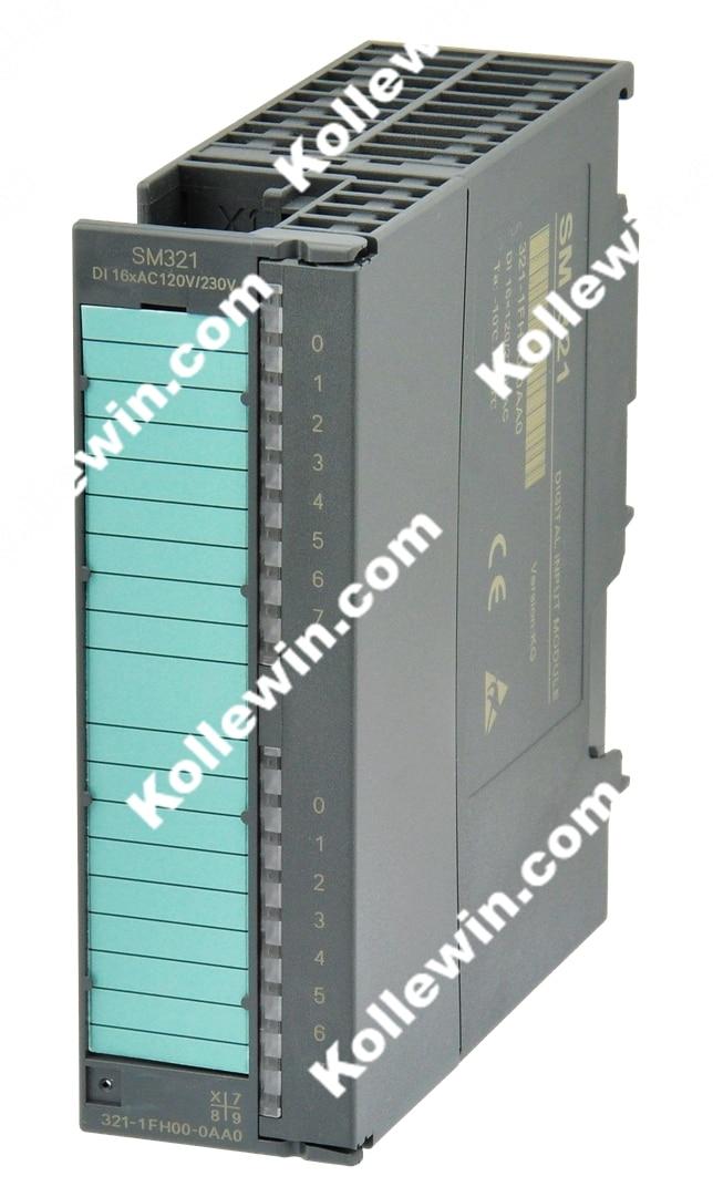 Бесплатная доставка OEM 6ES7321 1FH00 0AA0 модуль ввода цифровых сигналов, SIMATIC S7 300, SM321 16 DI AC 230 V, 6ES7 321 1FH00 0AA0, 6ES73211FH000AA0