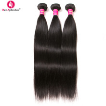 Aphro Peruvian Straight Hair 3 Bundle Deals 10-28inches Remy Hair Extensions Natural Color Human Hair Weave Bundles No Shedding