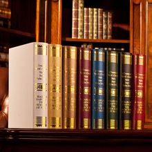 European Darwin decorative bookcase books photography new house ornaments props simulation study book fake book book box mold