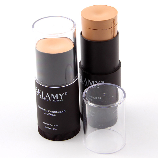 Concealer Stick Foundation Full Cover Face Corrector Hide Blemish Dark Eye Circle Contour Stick Face Makeup Primer Pen Cosmetic 3
