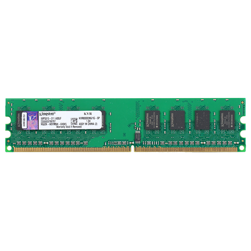 Original Kingston DDR2 sodimm1GB Memoria ddr2 667 sodimm ddr2 800mhz ram ddr 2 Memory KVR800D2N6/1G for Intel Computer Desktop