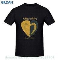 Short Sleeve Tshirt Cotton T Shirts Robin Trower The Playful Heart T Shirts Design Round Neck