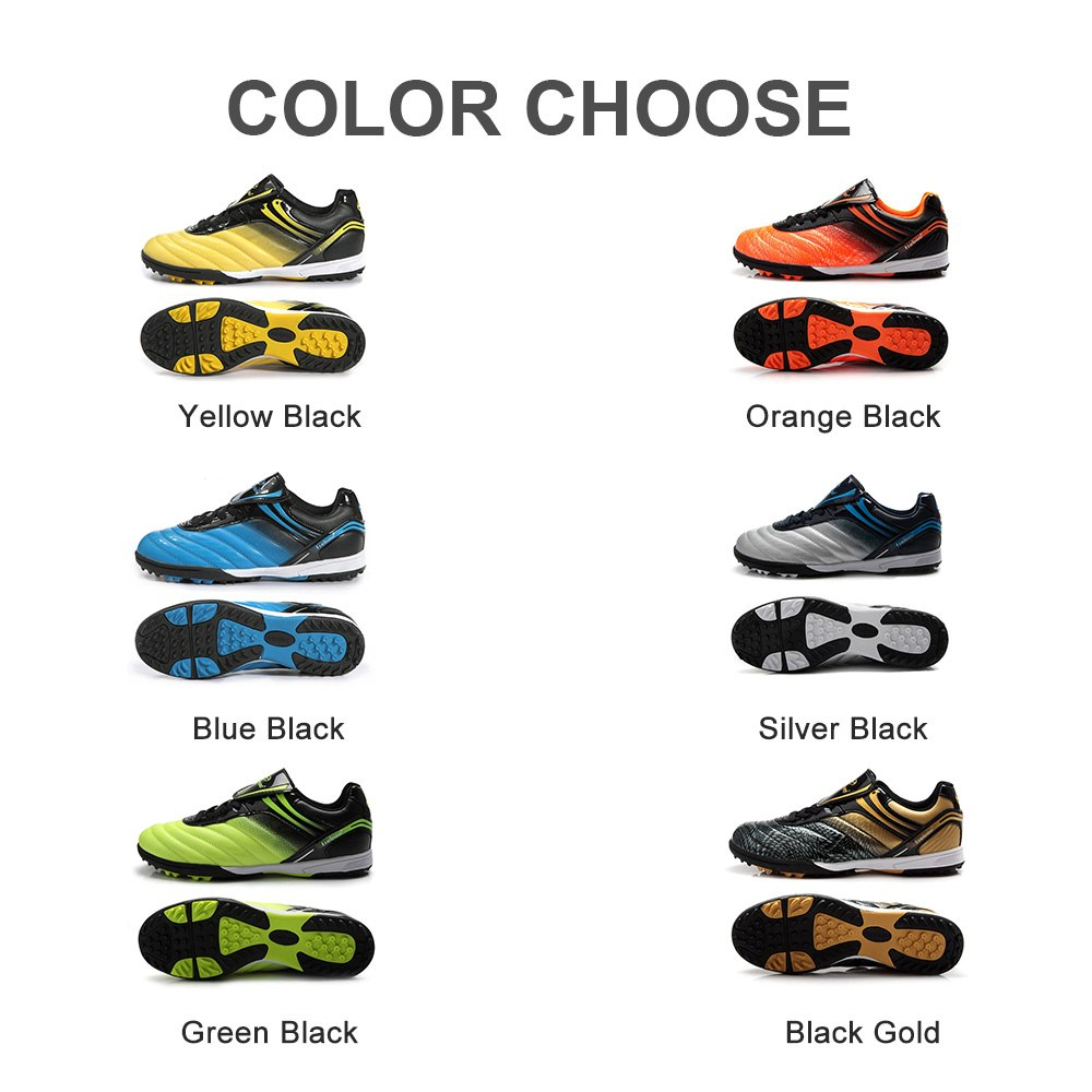 8604a50f01a Αγορά Παιδιά ' παπούτσια του s | TIEBAO Professional Kids Children Sneakers  Outdoor Sport Football Shoes TF Turf Rubber Soles Boys Girls Football Boots  EU ...