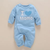 High Quality Baby Girl Rompers Cotton Jumpsuit Playsuit Coveralls With Letter New Born Infant Baby Boy