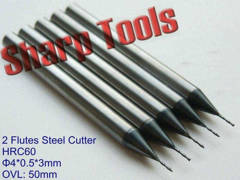 5 mm 3 mm Schaftfräser Teil Werkzeug 10 Stück Titanium beschichtet Neu