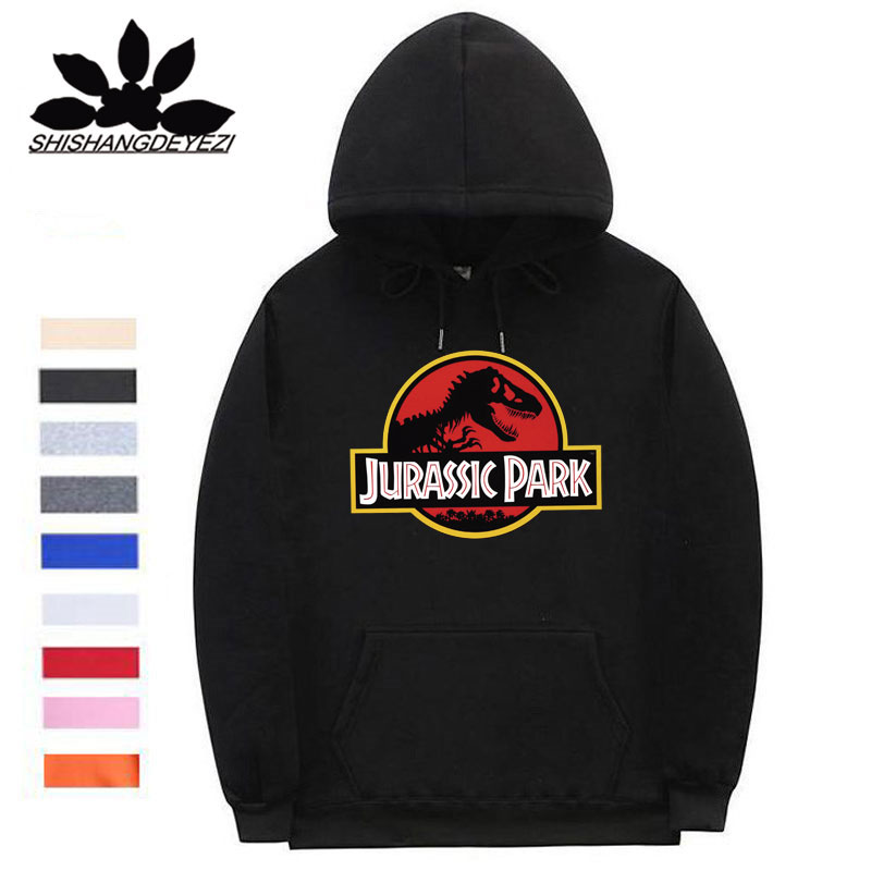 Jurassic Park Movie Ingen Logo Licensed Adult Pullover Hoodie