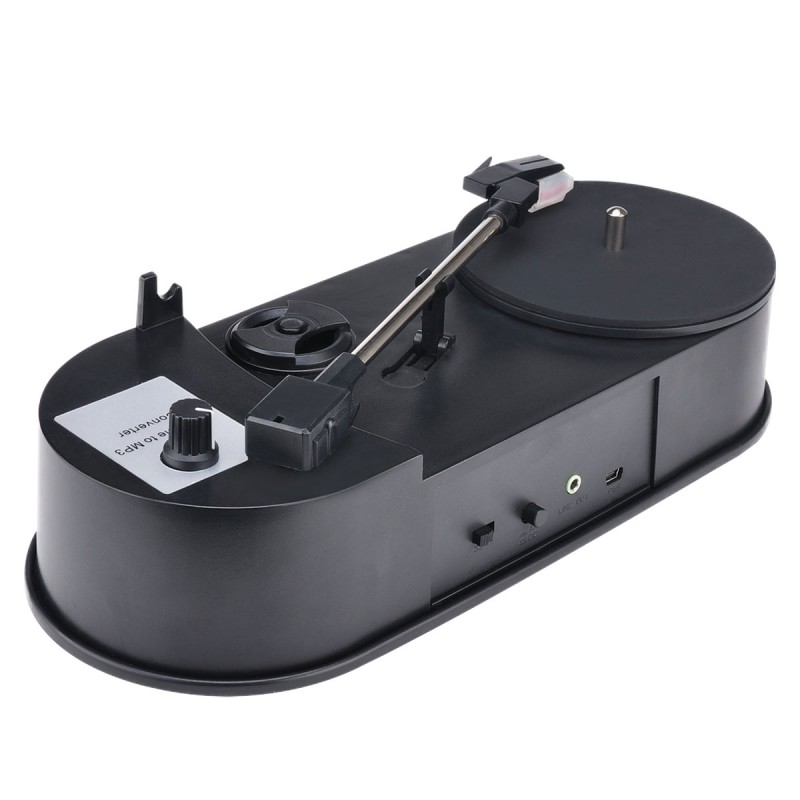 Ezcap610P USB ミニレコードプレーヤーレコードプレーヤービニール MP3 コンバータステレオ CD プレーヤー -