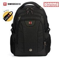 Высококачественная брендовая одежда Swiss Mens ежедневно Повседневное рюкзак для 15