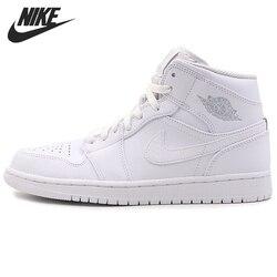 Original New Arrival 2017 NIKE AIR 1 MID Men's Basketball Shoes Sneakers
