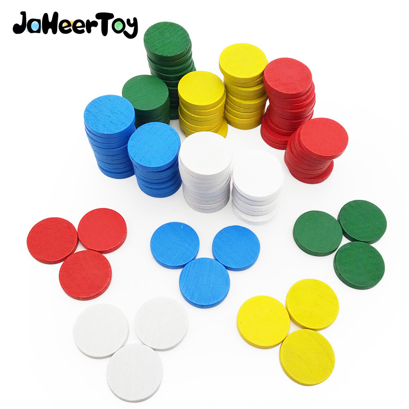 JaheerToy Baby Math Circular Color Wooden Toys for Children Montessori Educational Toy for Kids Figure Arithmetic Wood jaheertoy baby toys figure building blocks lion and elephant animal pattern funny educational wooden toys montessori kids