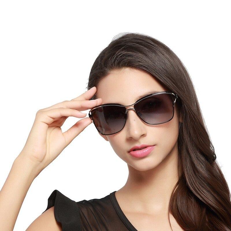 Image 3 - HDCRAFTER Polarized Cat Eye Sunglasses Women Fashion Style Brand Designer Driving Sun Glasses for Women Oculos De Sol Eyewear-in Women's Sunglasses from Apparel Accessories