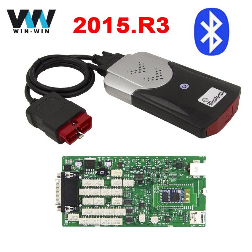Prix pour Vert Unique Conseil TCS CDP Pro 2015. R3/2014. R2 avec keygen OBD OBD2 De Diagnostic VCI Scanner TCS PRO Bluetooth Nouveau NEC Relais