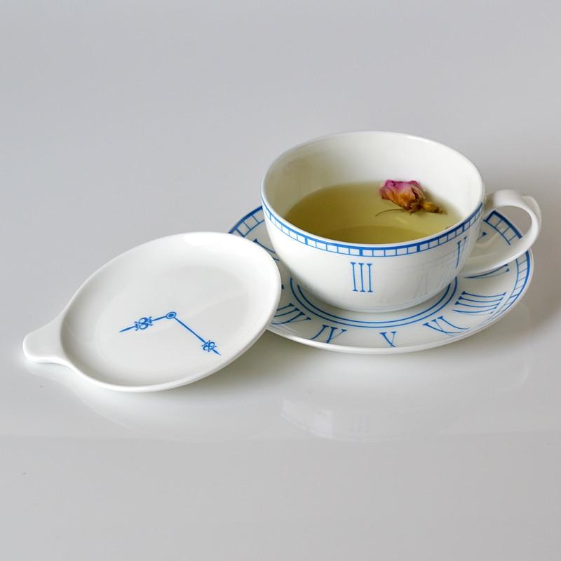 180ml Cappuccino coffee mug and saucer with lid set fashion lovers mug valentine day gift