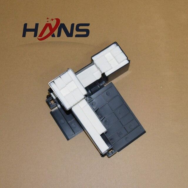 16 قطعة الأصلي L301 عبوة حبر فارغة قطعة تنظيفٍ إسفنجية لإبسون L300 L303 L350 L351 L353 L358 L355 L111 L110 L210 L211 ME101 ME303 ME401
