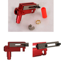 Full Steel 15 Full Teeth Piston JGfor Airsoft AEG Gearbox Ver 2 3 Red Free Shipping