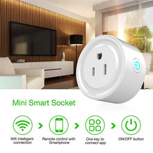 все цены на WIFI Smart Power Socket US Plug Timing Switch Remote Control Wireless Outlet Socket for Smart Home Automation Electronic System онлайн