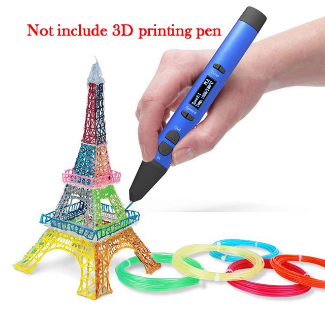 3D Plain ABS and PLA Filament