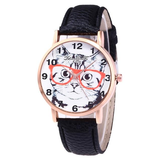 Women relojes mujer 2018 Hotting Fashion Women Faux Leather Analog Quartz Wrist