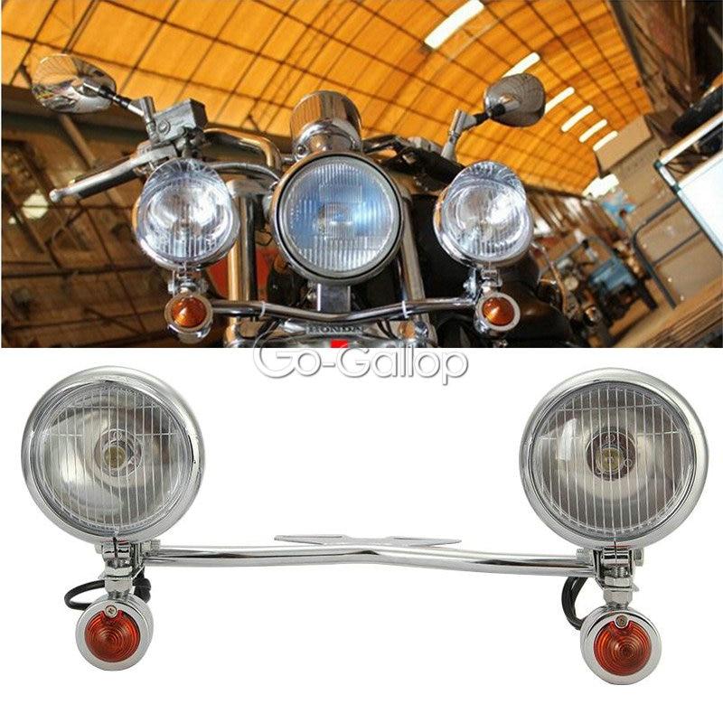2x LED Turn Signal Lights for Yamaha V-Star 650 950 1100 1300 Classic Stryker