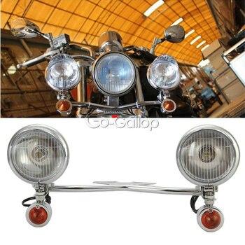 Световые сигналы поворота для Yamaha V-Star XVS 650 950 1100 на заказ Silverado/Suzuki Boulevard Intruder Volusia Marauder