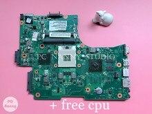 Nokotion v000218130 6050a2332301 para toshiba satélite l650 l655 computador portátil placa-mãe com ati 512 mb hm55 trabalhos