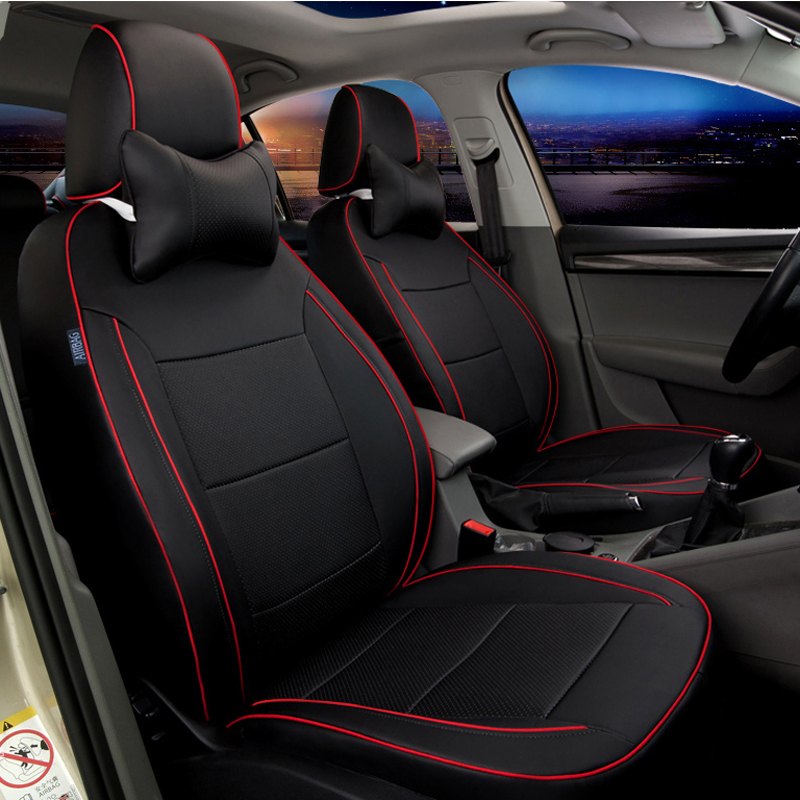 custom fit covers car seat for toyota wish seat cover accessories for cars seat cushion cover pu. Black Bedroom Furniture Sets. Home Design Ideas