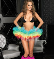 Free P&P New Arrivals Women/Girl's TUTU Tail Skirt Adult Petticoat Fit Club Costume Basques Fancy Multicolors One Size K10
