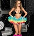 P & P New Arrivals mulheres / menina saia TUTU cauda adulto Petticoat Fit Club traje bascos fantasia Multicolors tamanho K10
