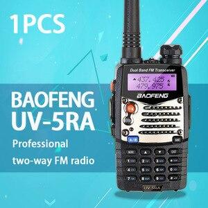 Image 2 - (1 pcs) baofeng uv5ra 햄 양방향 라디오 듀얼 밴드 136 174/400 520 mhz baofeng UV 5RA 워키 토키 라디오 트랜시버 블랙