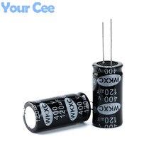 5 шт. Электролитические Конденсаторы 400 В 120 МКФ 18X36 ММ Алюминиевый Электролитический Конденсатор