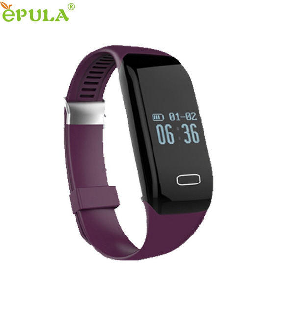 Beautiful Gift New H3 Bluetooth Smart Watch Wristband Bracelet Pedometer Fitness Heart Rate Monitor Wholesale price May19