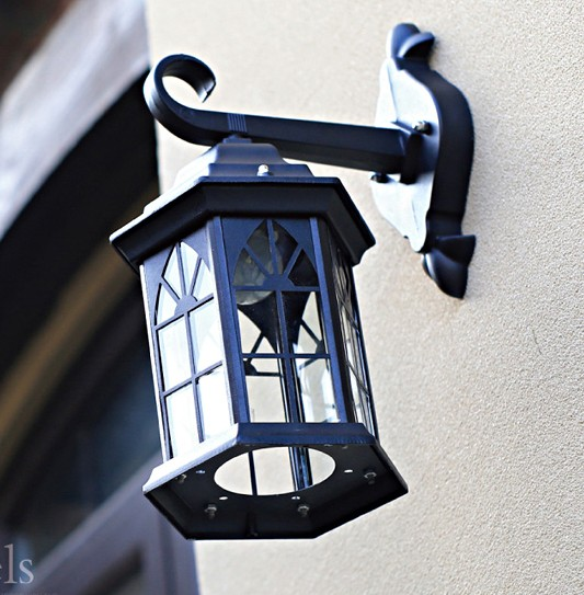 european led wall lamp outdoor wall sconce lighting waterproof garden wall light fixtures aluminum glass antique antique courtyard outdoor lighting 1