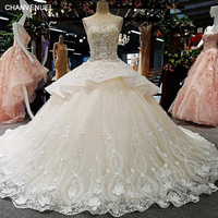 LS00368 lace up luxury wedding dress backless sexy pretty generous brides gowns 2017 vestidos de noiva bridal dress gelinlik