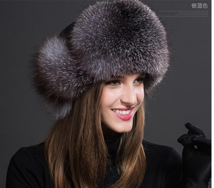 speciální high-end raccoon kožešinový klobouk ms lei feng klapky - Příslušenství pro oděvy