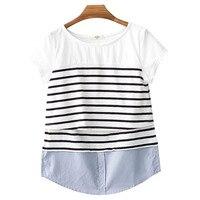 Lactancia superior Maternidad ropa de lactancia Alimentación Tops camisa de embarazo para mujeres embarazadas ropa madre verano