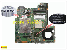 original Laptop motherboard for HP DV2000 462536-001 DDR2 MCP67M-A2 Integrated 100% Test ok