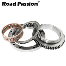 Road Passion Motorcycle One way Starter Clutch Gear Assy Kit For Yamaha XVS1100 XVS 99-09 Drag Star 1100 Classic 00-08 motorcycle one way bearing starter clutch gear