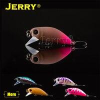 Jerry 1 мм шт. 35 мм 2,6 г форель приманки crankbait Пресноводная Рыбалка ультра легкий микро жесткий медленно тонущий воблер