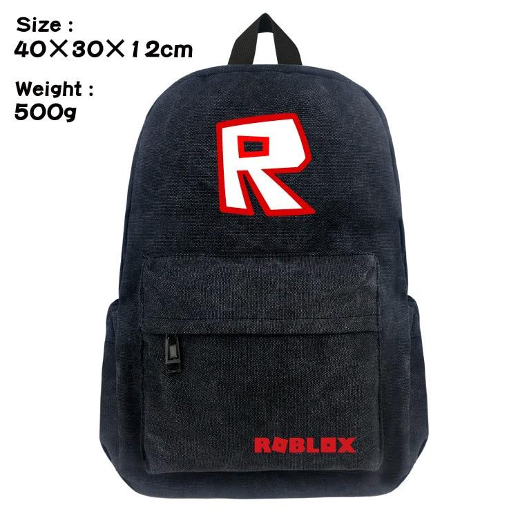Hot Game Roblox OW Creeper Alpaca Boy Girl School bag Women Bagpack  Teenagers Schoolbags Canvas Men Student Backpacks Satchel