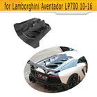 Carbon Fiber Rear Roof Cover Hoods Sunroof Tardtop Case for Lamborghini Aventador LP700 LP700-4 Roadster Pirelli 10-16 D Style