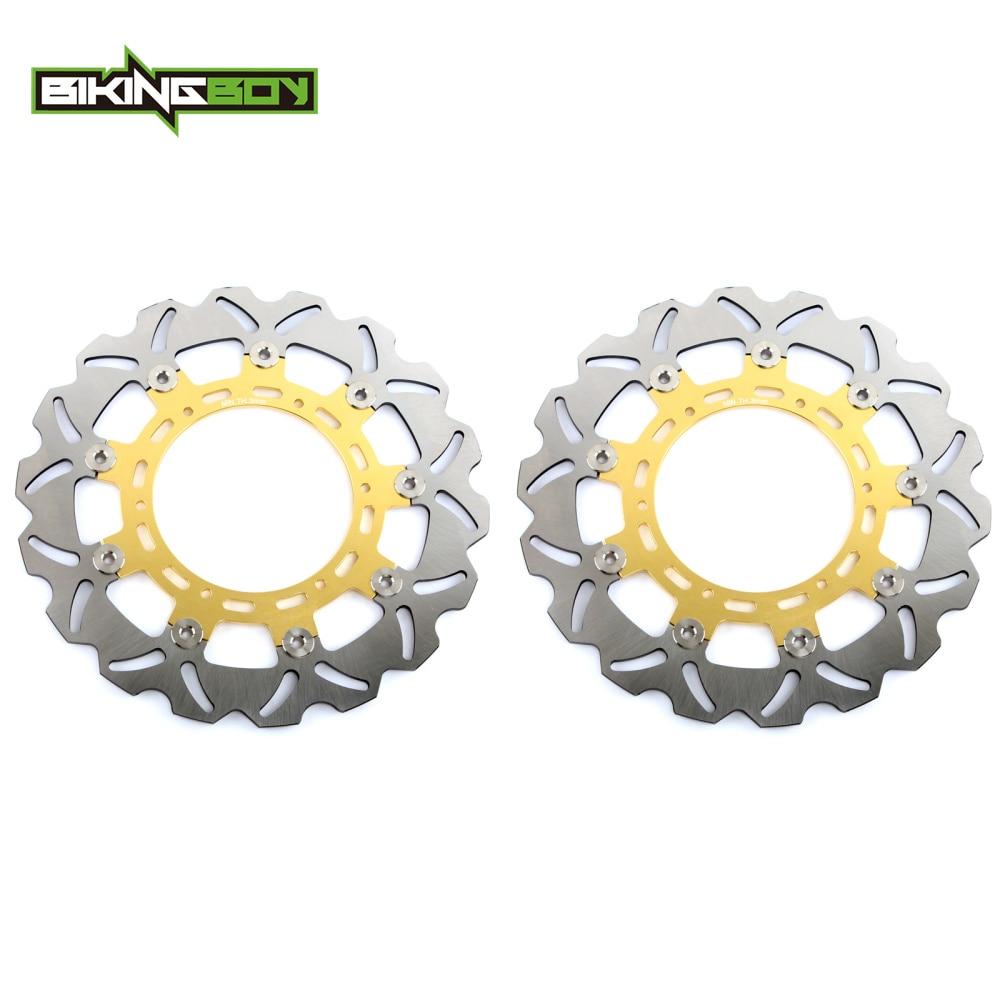 BIKINGBOY Front Brake Discs Disks Rotors For KTM 640 Adventure LC4 950 Adventure / S / Super Enduro R 990 Adventure R S LC8-in Brake Disks from Automobiles & Motorcycles    1