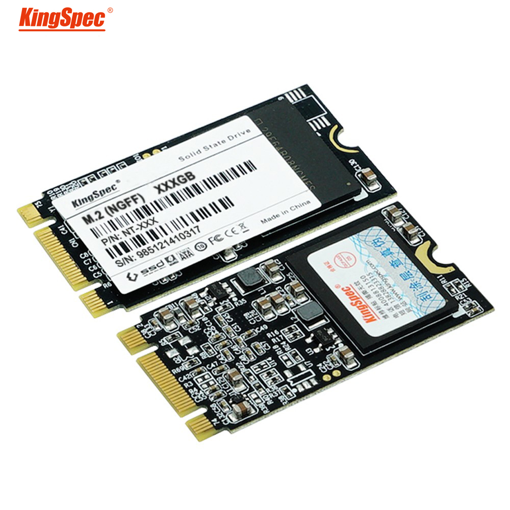 22x42mm brand kingspec 64GB 128GB 256gb 512gb solid state hard disk NGFF M.2 ssd interface flash memory MLC for laptop ultrabook image